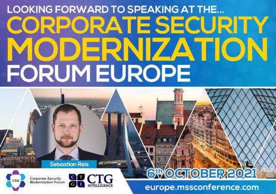 Corporate Security Modernization Forum Europe5