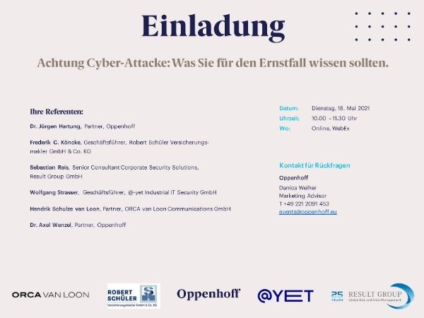 Cyber Attacke Ernstfall 2