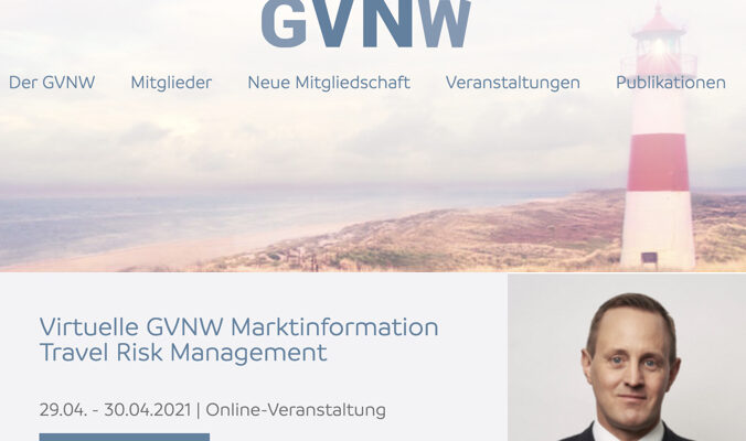 GVNW Travel Risk Managment