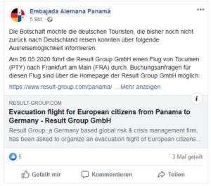 Embassy Germany Panama