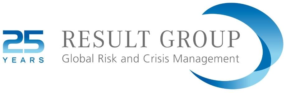 Result Group Logo 25 Jahre